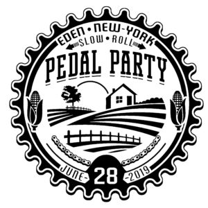 2019 Pedal Party Logo