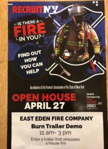 fire open house