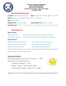 Summer Recreation and Pool Fee and Times 2021_page-0001